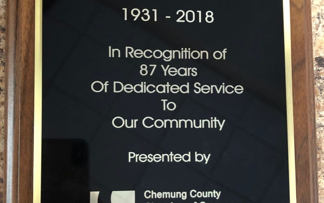 Chemung Supply Corporation honored with award